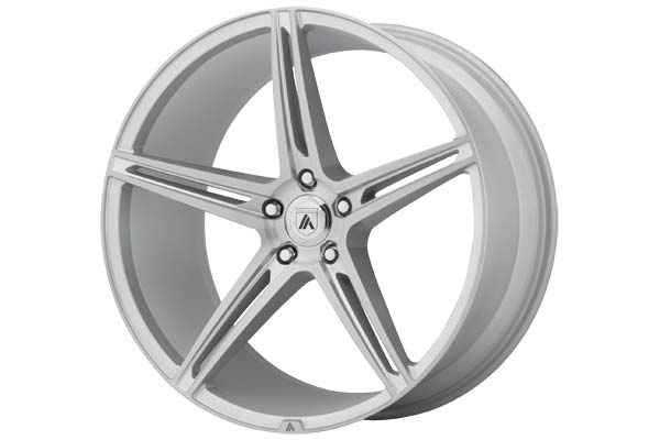 Image of Asanti Black 022 Wheels in Brushed Silver
