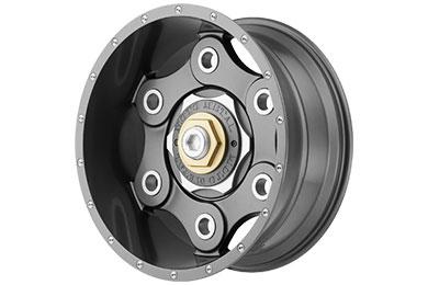 wheel pros moto metal MO977 link gunmetal sample