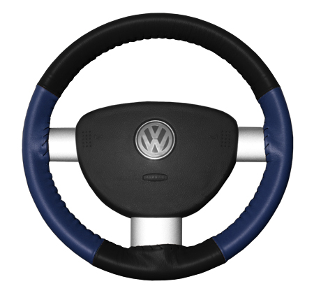 wheelskins eurotone black with blue