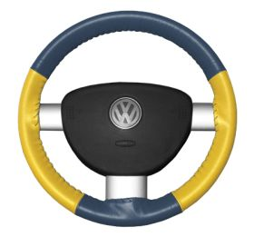 wheelskins eurotone sea blue with yellow