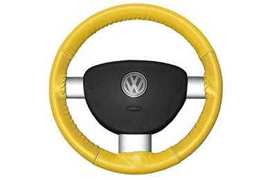 wheelskins eurotone white with yellow