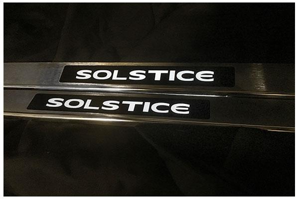 windrestrictor solsticeDS door sill sample