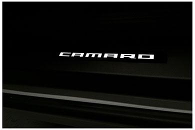 windrestrictor camaro door sills black white sample