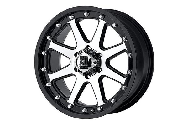 xd series 798 addict matte black machined wheels