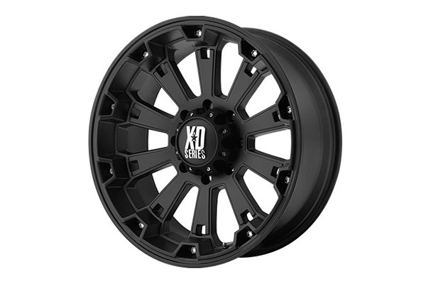 xd series 800 misfit matte black wheels