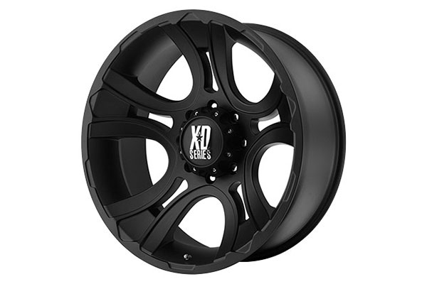 xd series 801 crank matte black wheels