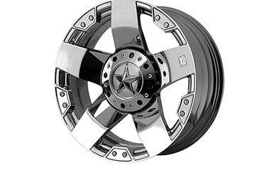 xd series 775 rockstar chrome wheels
