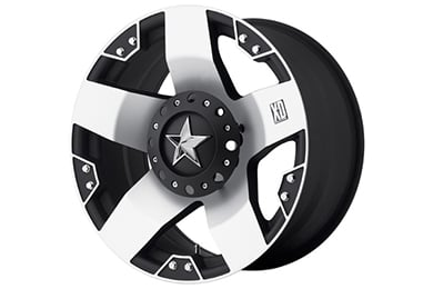 xd series 775 rockstar machined face wheels
