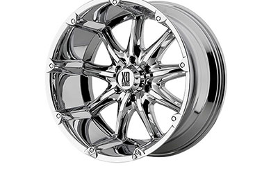 xd series 779 badlands chrome wheels