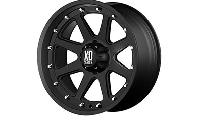 xd series 798 addict matte black wheels