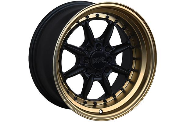 xxr 002 5 wheels flat black bronze lip sample