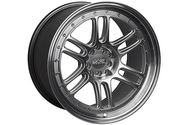 xxr 552 wheels silver with machined lip sample