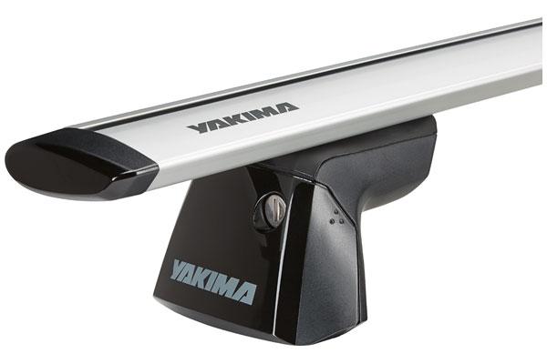 yakima streamline roof rack system flush ridgeline js slvr sample