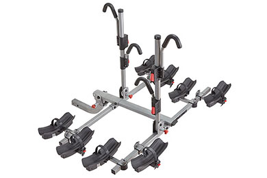 yakima fourtimer hitch mount bike rack four sample