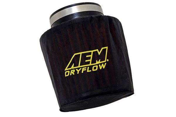 aem dryflow prefilter air filter wrap