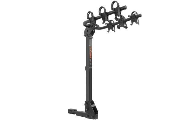 curt standard hitch mounted bike racks