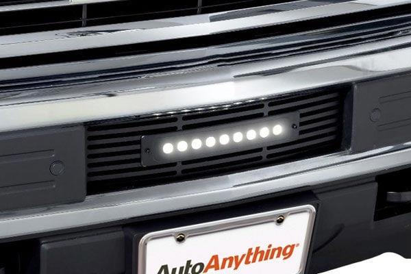 putco luminix led shadow billet bumper grille