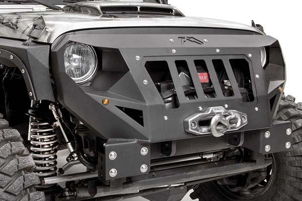 fab fours grumper jeep front bumper hero