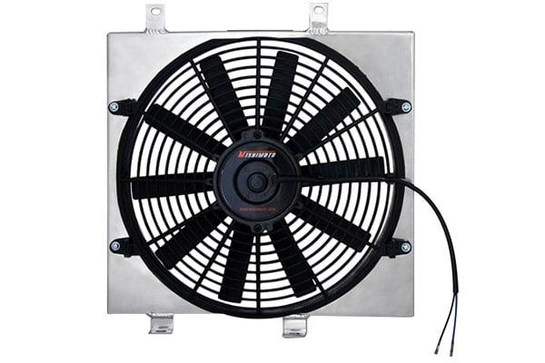 mishimoto aluminum fan shroud kits