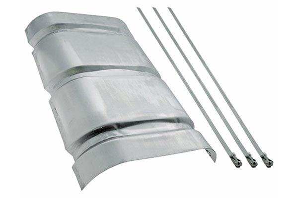 flowmaster muffler heat shield