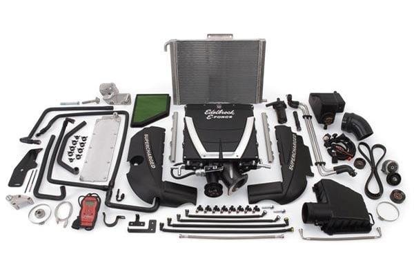 edelbrock e force supercharger kits