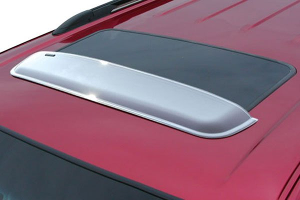 stampede wind tamer chrome sunroof deflectors