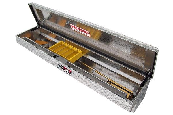 brute pro series losider side rail toolbox