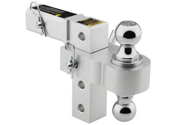 smittybilt aluminum adjustable hitch drop ball mounts