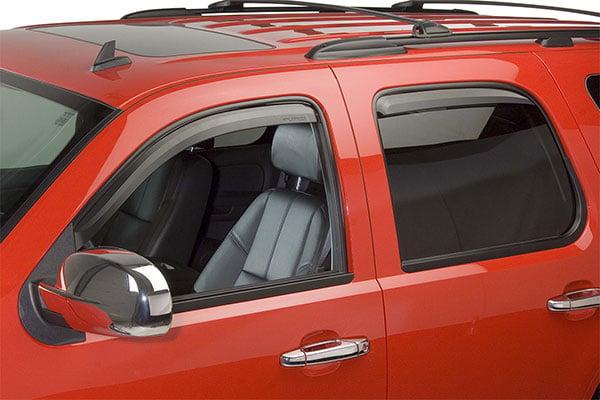 putco element tinted window visors