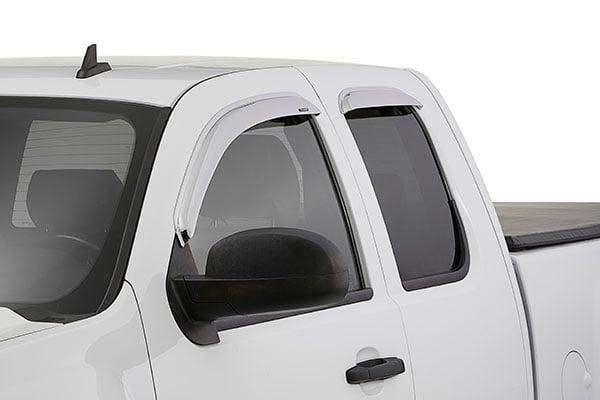 stampede tapeonz sidewind chrome window deflectors