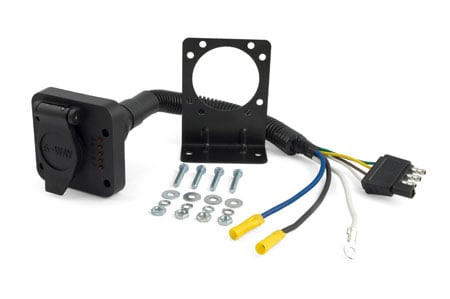 curt trailer hitch wiring adapters 57626