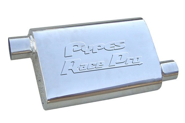 pypes race pro mufflers offset sample