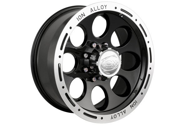 ion alloy 174 wheels gloss black with machined lip sample