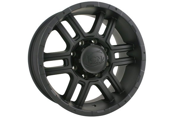 ion alloy 179 wheels matte black sample