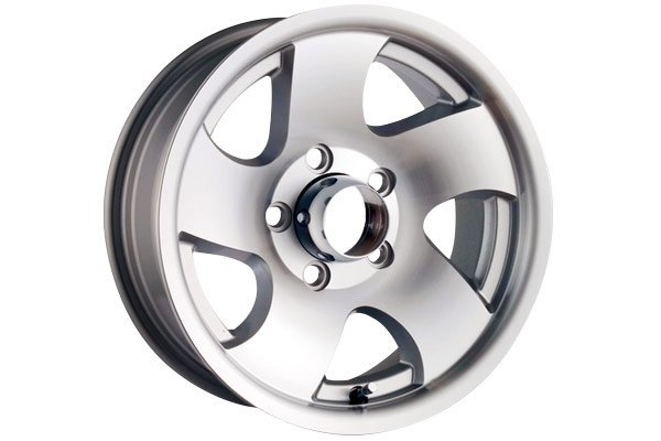 ion alloy style 10 trailer wheels machined with silver window sample