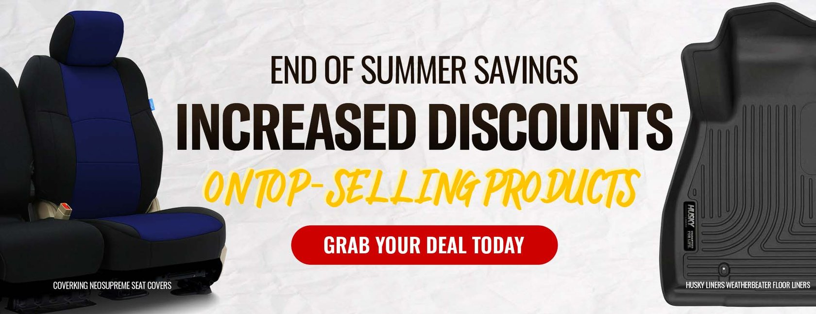 Shop The End Of Summer Sale - AutoAnything